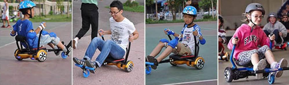 HoverBot Primus_Hoverboard_Kart