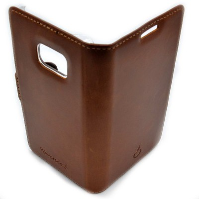 real leather cover - cover vera pelle - powerseed42