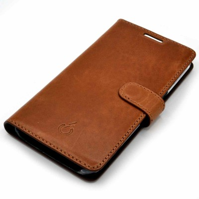 real leather cover - cover vera pelle - powerseed45