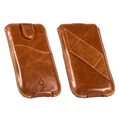 real leather cover - cover vera pelle - powerseed104
