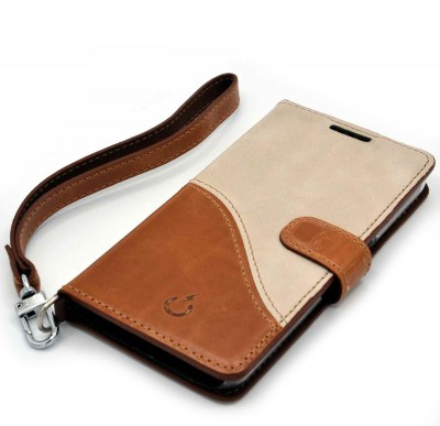 genuine leather cover - cover vera pelle - powerseed1