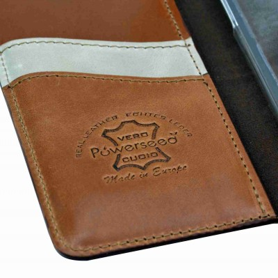 genuine leather cover - cover vera pelle - powerseed26