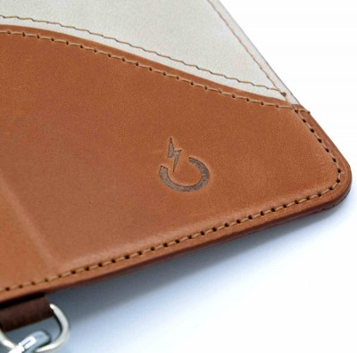 genuine leather cover - cover vera pelle - powerseed32