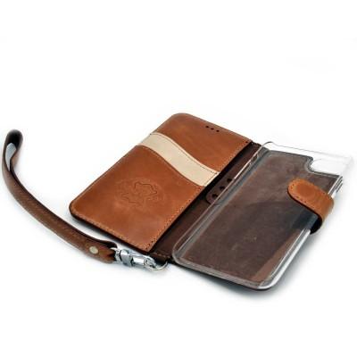 genuine leather cover - cover vera pelle - powerseed5