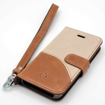 genuine leather cover - cover vera pelle - powerseed7