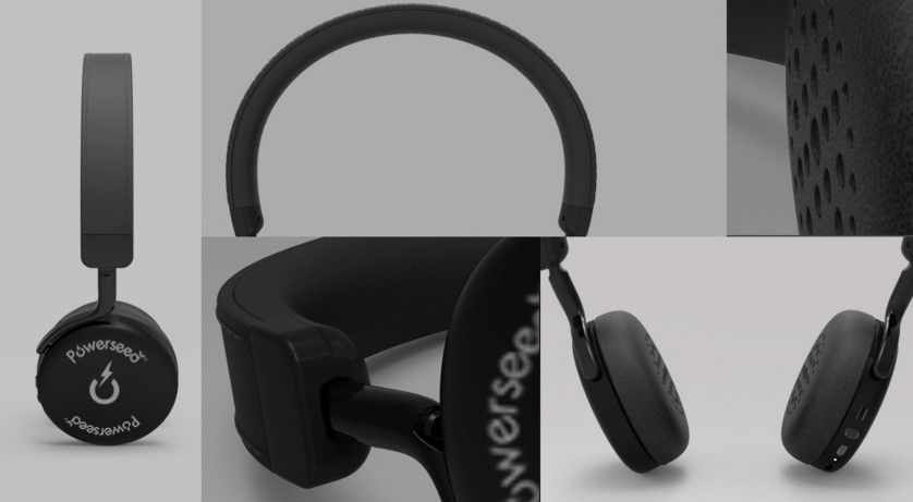 BT Headphones Powerseed