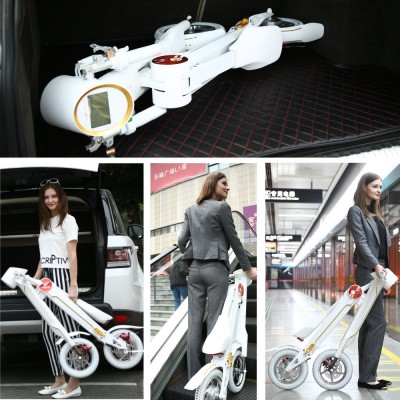 electric folding scooter folding portable