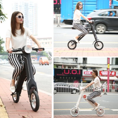 electric folding scooter folding riding