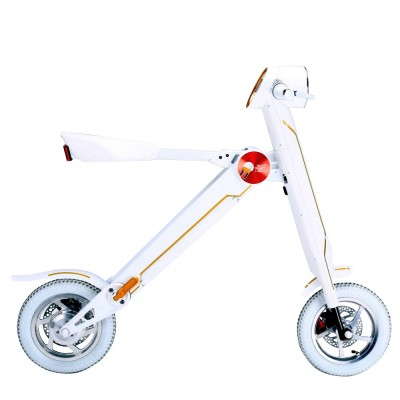 electric folding scooter white1