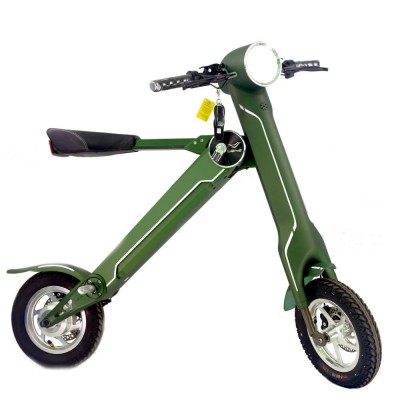 lehe k1 electric folding scooter green